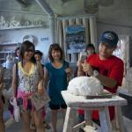 Hands-on alabaster workshop