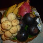 fresh exotic fruit every day- lush!