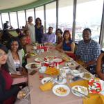 Brunch at Olympia  360 degrees Revolving Restaurant