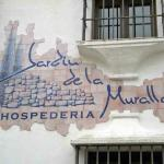 Wall sign for the Jardin da la Muralla Hotel