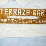 'Terrazana-Bar' sign