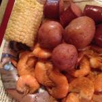 petite low country shrimp boil.