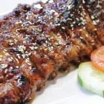 BBQ PORK RIBS Warior Size Sauce : Original Sweet / Swee