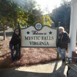 Entering Mystic Falls