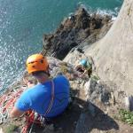 Fab day - Phil & I with Climb Pembroke