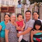 The whole family of Jolie Villa Hoi An Homestay