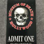 Билет в музей смерти