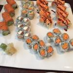 Sushi lunch special