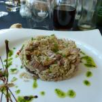 riz au canard et chanpignons