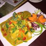 We got to sample this yummy fish curry that they may add to next months menu