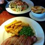 Gammon Steak & Chicken Salad