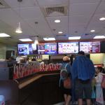 Inside Dunkin Donuts