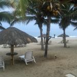 Zona Playa en las afueras de los Bungalows