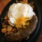 Hearty breakfast skillet
