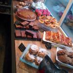 Norfolk St Bakery window display