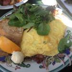 Omelette du jour