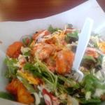 Fried Buffalo Shrimp Salad