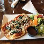 Personal Gluten Free with Pepperoni, Spinach & Portobello