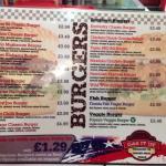 great burger selection