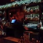 Up at bar
