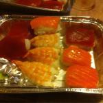 Sushi muy rico