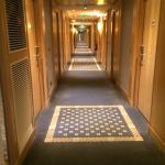 Un couloir des chambres