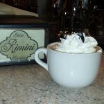 Hot chocolate.  Very good.