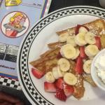 Strawberry banana French toast