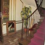 7 Hotel du Mont Blanc  stairs from reception