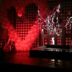 Valentine Stage Decoration Feb 2015