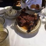 熟成肉のTボーンステーキ
