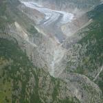 Aussicht auf den Aletschgletscher