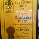 2014 Pub of the Year