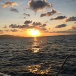 Sonnenuntergang auf der Nautiness