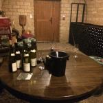 Second stop: Tasting in a wine cellar