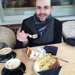 Vanilla & Raspberry - and - Orange & Cranberry Cake. YUM!!!