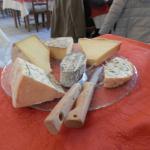 plateau de fromages menu à 23