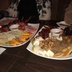 Maltese and Ham&Cheese Platters