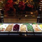 Great salad bar!