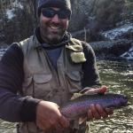 Big Rainbow on the Crooked River with Jeremiah.