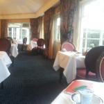 Great breakfast in cool room