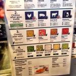 Frijoles menu. Decisions. Decisions.