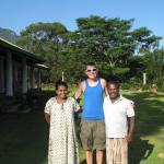 Martin and Rani and Phil my husband at Jungle tide