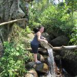 Shower on walk in tea plantation surrounding jungletide