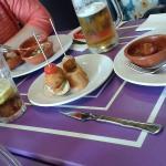 Pinchos and tapas