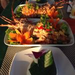 Lobster Dinner -sweat sour & garlic /Pepper