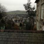view from bedroom window over Kendal