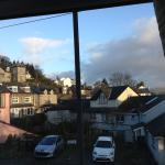 view from back window of Higher Fellside Kendal