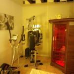 L'espace sauna / mini fitness