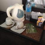 Thé Café et eau dans votre chambre